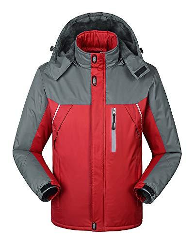 Mujer Hombre Impermeable Chaquetas Softshell de Montaña Al Aire Libre Abrigo de Esquí con Capucha: Amazon.es: Ropa y accesorios