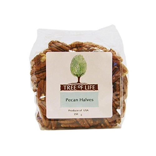 Tree of Life Pecan Halves 250g - Pack of 6