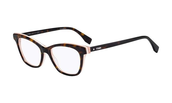 732e4da080d Eyeglasses Fendi Ff 256 0086 Dark Havana at Amazon Men s Clothing store