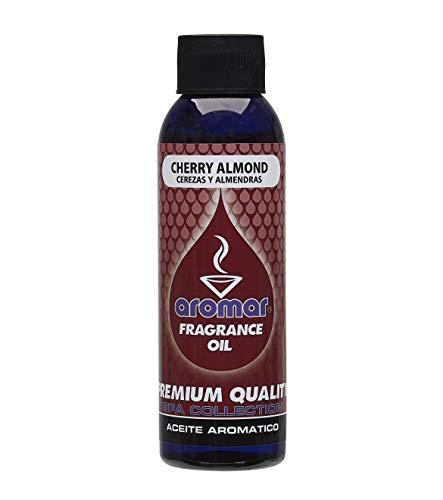 Cherry Almond Scent - Aromar Fragrance Oil 4 Ounce Cherry Almond Aromatherapy Essential Oil Scented Oil Scent Oil