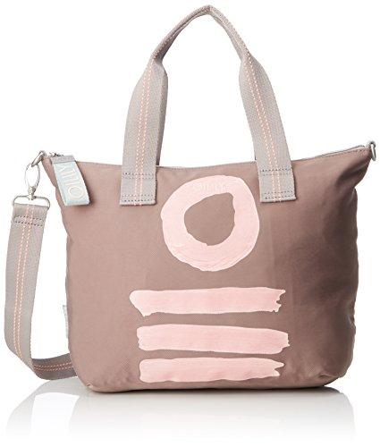 Fun Oilily Handbag Sac Mhz Nylon Beige Taupe HwdEdr