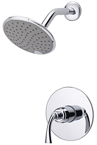Ultra Faucets UF79300-1 Twist Collection Single-Handle Shower Only Trim, (Ultra Brass Pressure Balance Shower)