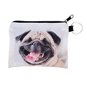 GBSELL Women Cute Cat Puppy Key Phone Change Small Clutch Bag Purse (Cute Dog)