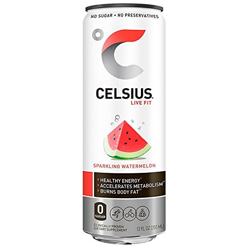 - Celsius RTD Sparking Watermelon, 12 Ounce
