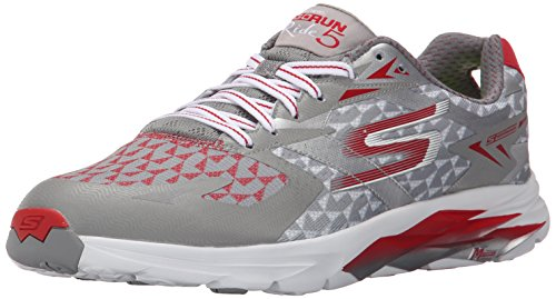 Skechers Performance GORUN RIDE 5 Men's Trainers Running Shoes quick fit Gris (GYRD)