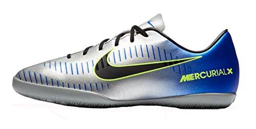 (NIKE Kids' Neymar Jr. MercurialX Victory VI (IC) Indoor/Court Soccer Shoes (5Y))