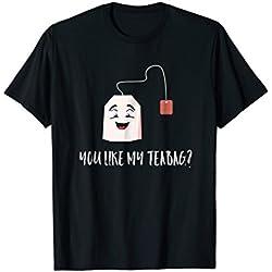 Tea Bag Tshirt - Do you like my tea bag? - Video game funny
