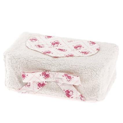 Therese Accessoires Teddy Rosina - Funda para toallitas húmedas (17 x 9 cm)