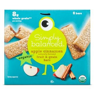 - Simply Balanced Apple Cinnamon Naturally Flavored Fruit & Grain Bars - 7.8oz (pack of 1)