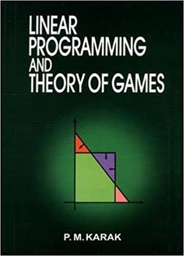 Buy Liner Programming and Theory of Games Book Online at Low
