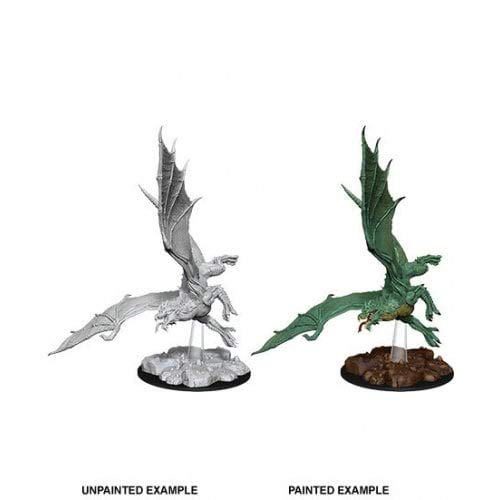 Dungeons and Dragons: Nolzur's Miniatures Young Green -