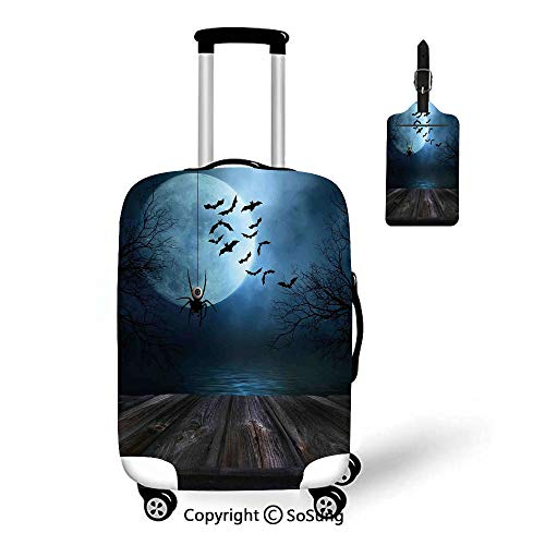 Halloween Decorations 3D Printed Luggage Cover & Luggage