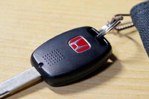Genuine Honda Red H Key Case Cover Fob For Honda Fit Jazz