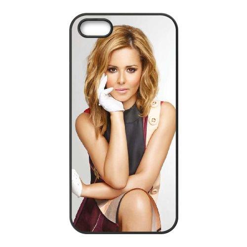 Cheryl Cole 005 coque iPhone 5 5S cellulaire cas coque de téléphone cas téléphone cellulaire noir couvercle EOKXLLNCD22789