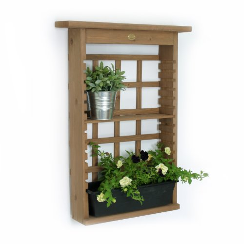 Algreen 34003 Vertical Decorative Shelving