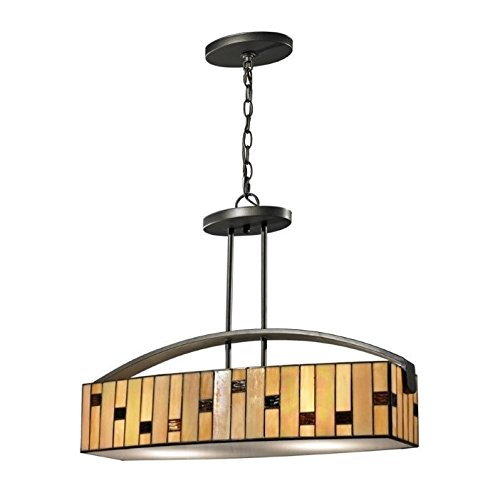 Dale Tiffany TH12407 DT Contempo Mojave Hanging Fixture, 24