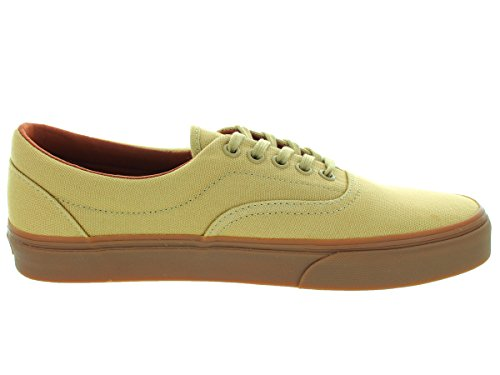 Vans Vewznvy Unisex-tijdperk Canvas Skate Shoes Khaki Medium Gum