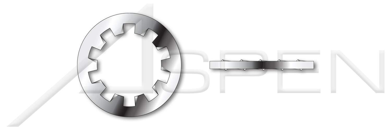 (600 pcs) M20, DIN 6797 Type J, Metric, Tooth Lock Washers, Internal Type''J'', A2 Stainless Steel