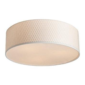 IKEA ALANG - Lámpara de techo, blanco - 45 cm: Amazon.es: Hogar