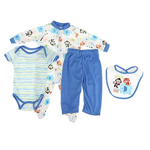 - CUTICATE Adorable Rompers Suspender Trousers and Hat and Socks Outfits for 20/21/22 inch Reborn Baby Newborn Girl or Boy Dolls Clothes