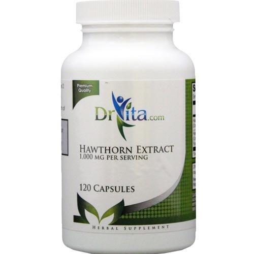DrVita Стандартизированный Экстракт боярышника - 1000 мг на порцию
