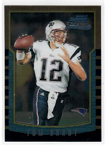 Tom 236 (000 Bowman Chrome 236 Tom Brady RC - New England Patriots (Rookie Card))