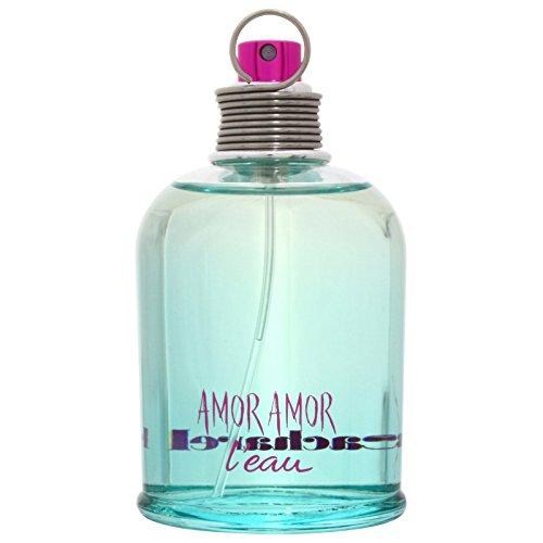 Price comparison product image Cacharel Amor L'eau Eau de Toilette Spray for Women,  3.3 Fluid Ounce