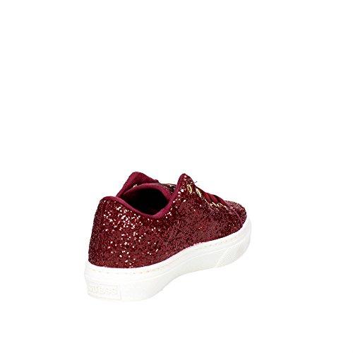 Guess FL3 GEN FAM12 Zapatillas De Deporte Mujer Glitter Bordeaux Bordeaux