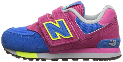 Unisex pink And Balance Multicolore M – New Ginnastica Bambini blue Scarpe Hook Da Basse Kv574cki Loop SHFTwgq