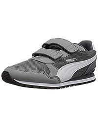 PUMA St Runner V2 - Zapatillas de Deporte con Cierre de Velcro para niños