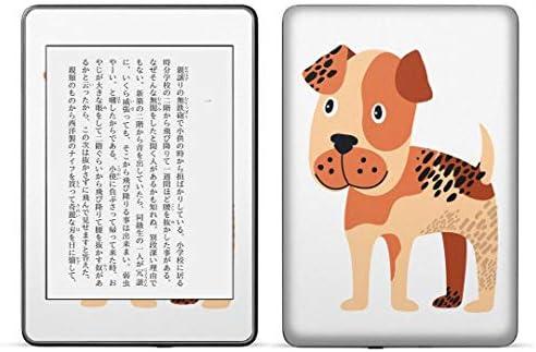 igsticker kindle paperwhite 第4世代 専用スキンシール キンドル ペーパーホワイト タブレット 電子書籍 裏表2枚セット カバー 保護 フィルム ステッカー 016225 犬 動物