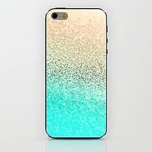 XB- Golden Blue Gradient Pattern hard Case for iPhone 6