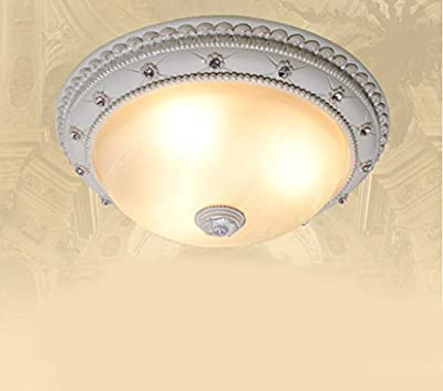 Jingzou European Ceiling Bedroom Light Glass Lighting