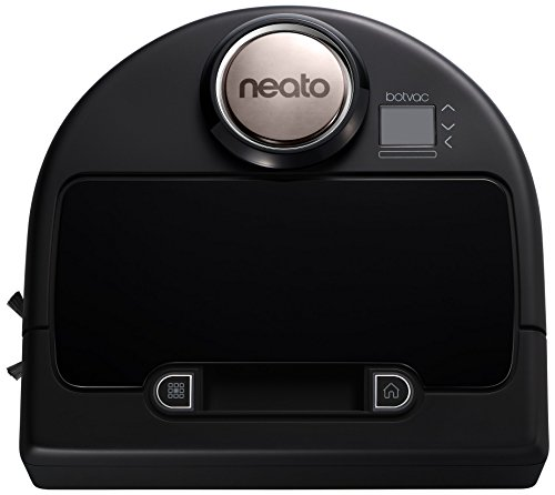 Neato Robotics Botvac Connected - Robot aspirador WiFi, color negro y gris metalizado