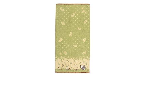 Mi vecino Totoro Totoro caminos (non-twist hilos Steam Shirring + bordado) toalla de baño (590 418: Amazon.es: Hogar