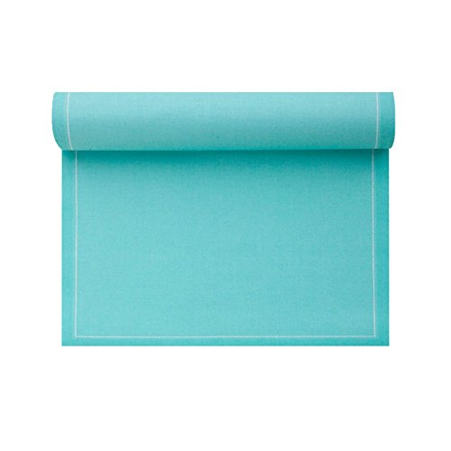 Cotton Placemat - 18.9 x 12.6 in - 12 units per roll - Aquamarine by MYdrap