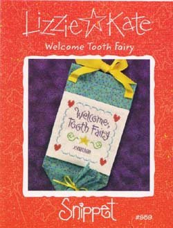 Stitch Cross Welcome Chart (Welcome Tooth Fairy Cross Stitch Chart and Free Embellishment)