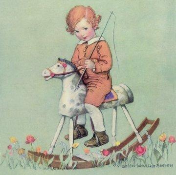 Lot Of 24 Pieces Jessie Wilcox Smith #1 Assorted Nursery Art Cards Art & Prints