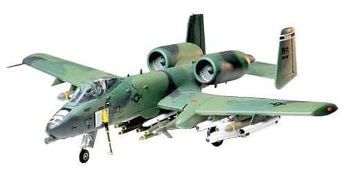 Tamiya Models A-10 Thunderbolt II Model Kit