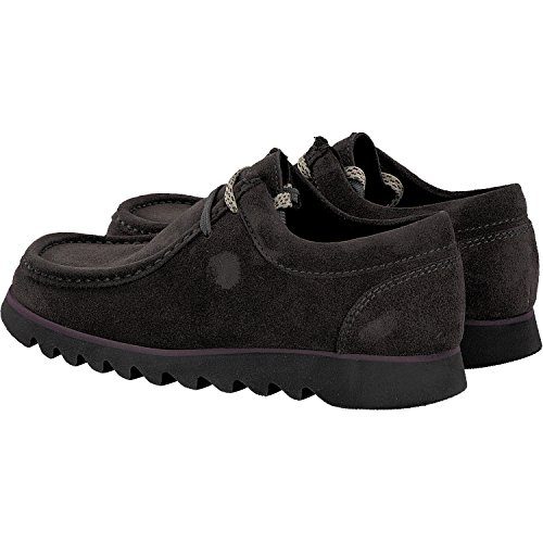Para Cordones De Zapatos Mujer Grashopper Sioux Gris qZxTfg4Iw