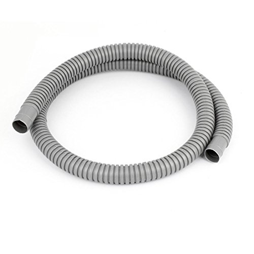 Gray plastic air conditioner drain pipe water hose 41 for Water line pipe material