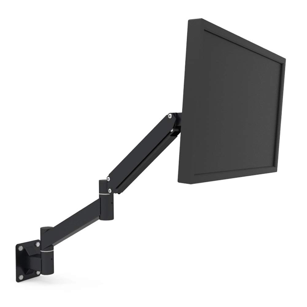 JL Wall-Mounted Computer Monitor Bracket Universal Rack Spring Arm Display Bracket Telescopic Rack A+ (Size : 2) by Monitor Stand