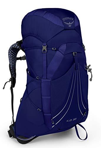 Osprey Eja 38 Women's Backpacking Pack, Equinox Blue, Medium