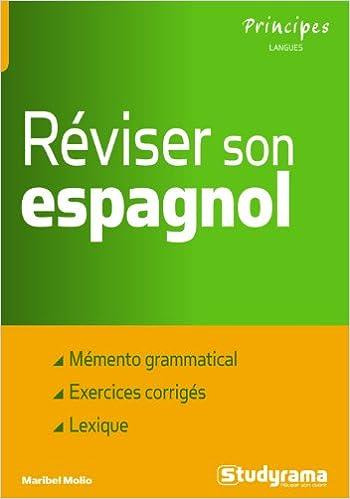 En ligne téléchargement Réviser son espagnol pdf