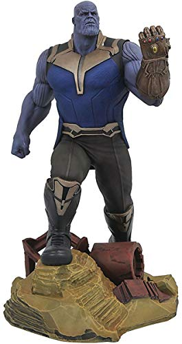 DIAMOND SELECT TOYS Marvel Gallery: Avengers Infinity War Movie Thanos PVC Diorama Figure
