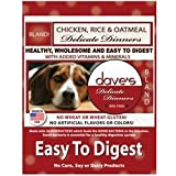 Dave's Pet Food Chicken Rice and Oatmeal Bag, 30 lb.
