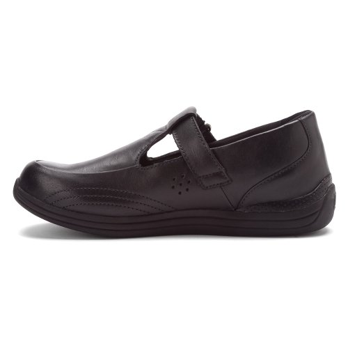 Drew Shoe Mujeres Mocasines Lila Black Calf