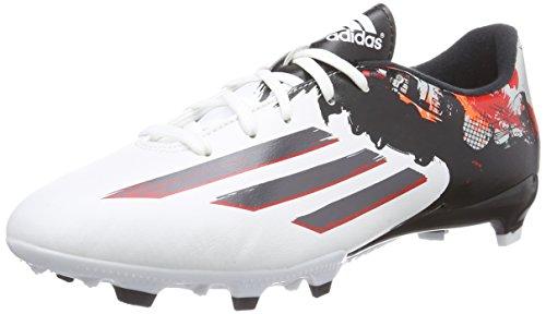 adidas Messi Pibe de Barr10 10.3 FG Herren Fußballschuhe Weiß (Ftwr White/Granite/Scarlet)