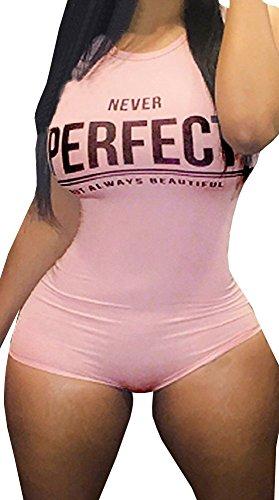 Jiujiuyi Women's Sexy Clubbing Sleeveless Bodycon (Sexy Jumpsuits For Clubbing)