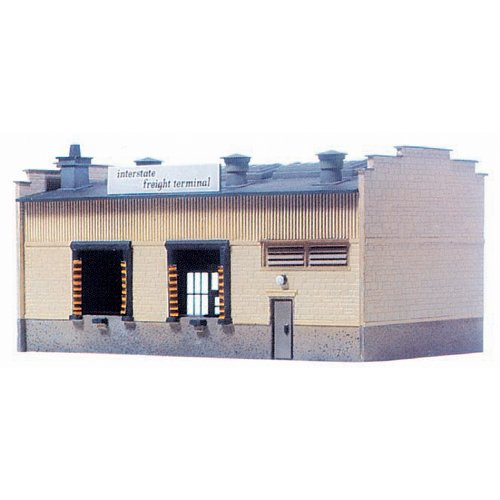 Model Power HO Scale Building Kit - Interstate Freight Terminal